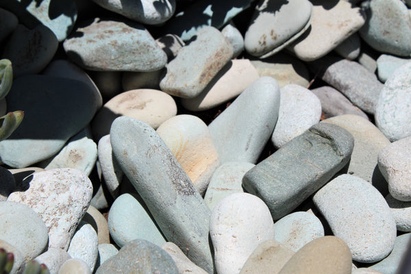 Decorative Landscape Beach Pebble Aqua