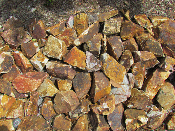 Baja Cresta Red Decorative Landscape Rubble
