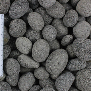 Black Lava Landscape Pebble