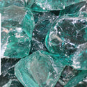 Turquoise Landscape Glass