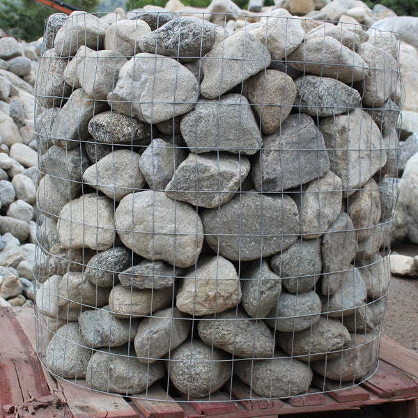 Full Moon Decorative Landscape River Rock, delivered