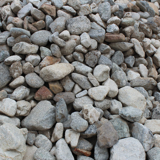 Full Moon Decorative Landscape River Rock, 4-8