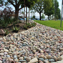 Pami Decorative Landscape River Rock on a ground application
