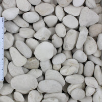 "Ivory Pebble Sample (1/2""-1"", 1""-2"", and 2""-3"")"