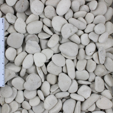 Ivory Decorative Landscape Beach Pebble