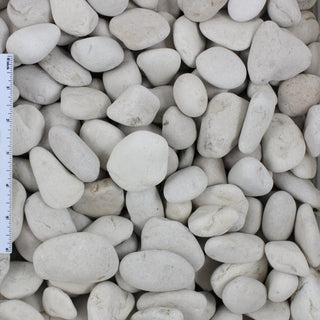 Ivory Decorative Landscape Beach Pebble 1/2