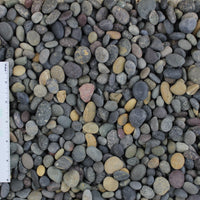 "La Paz Mexican Beach Landscape Pebbles, 3/8""-5/8"""