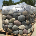 "Mixed Mexican Beach Stones, 6""-12"" at delivery"
