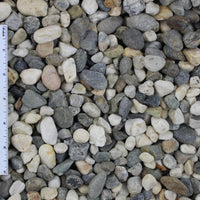 "Moraine River Rock Sample (1/4"", 3/8"", 1/2"", 3/4"", and 1 1/2"")"
