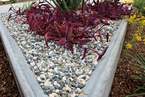 Moraine Pebble in a garden application