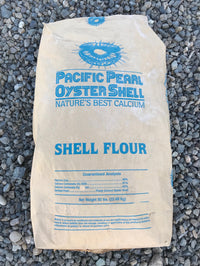 Oyster Shell Flour bag