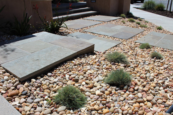 Salmon Bay Stones as ground cover