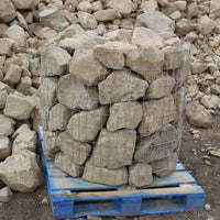 "Topanga Decorative Stone 9-12"" on a pallet"