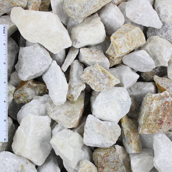 White Decorative Landscape Gravel .2