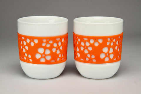 QDO Silly Thermal Cups - set of 2 - The Tea Merchant