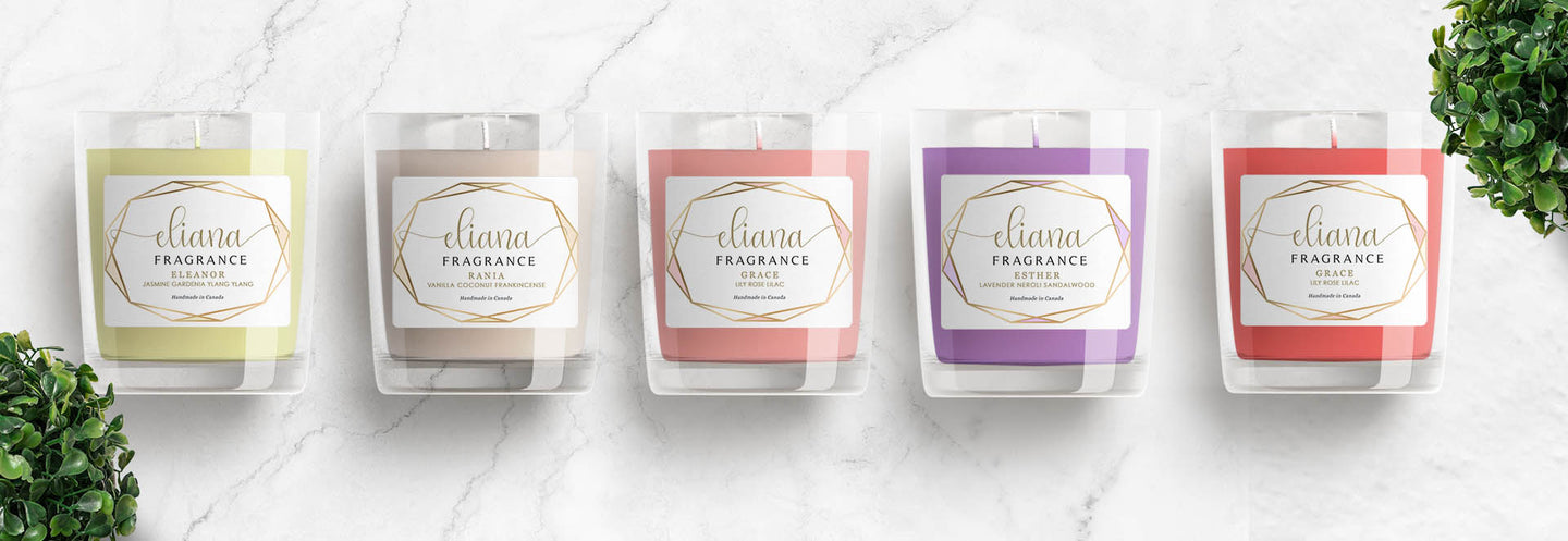 Five candles of Elegant collection