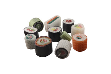 Beeswax Sushi Candles Set