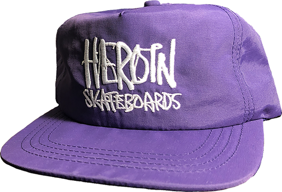 HEROIN SKATEBOARDS SCRIPT HAT