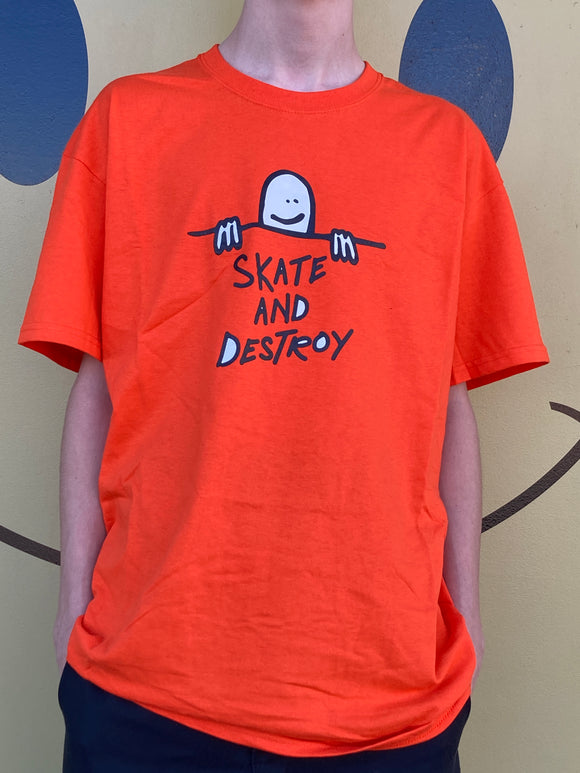 THRASHER GONZ SKATE AND DESTROY SHIRT