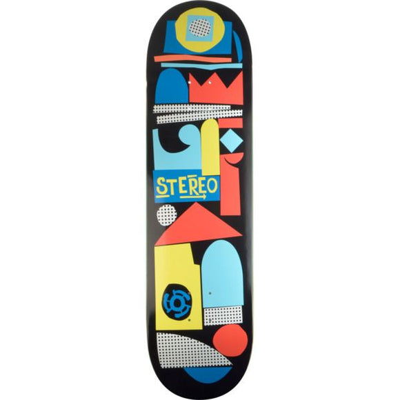 STEREO TEAM COLLAGE 8.5 SKATEBOARD DECK