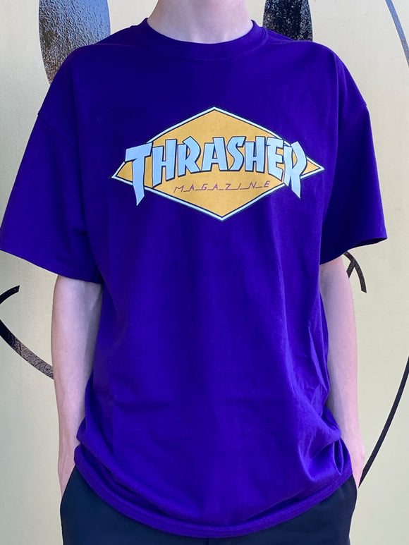 THRASHER MAGAZINE DIAMOND LOGO SHIRT