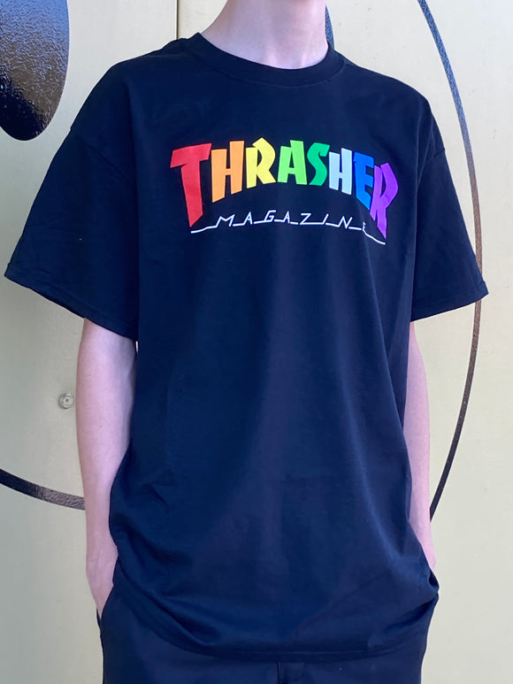 THRASHER MAGAZINE RAINBOW SHIRT