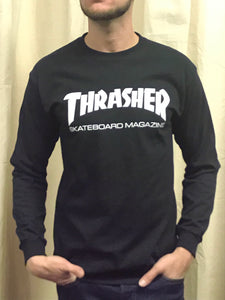 THRASHER SKATEBOARD MAGAZINE LONG SLEEVE T-SHIRT