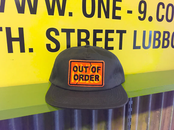 ANTIHERO OUT OF ORDER HAT