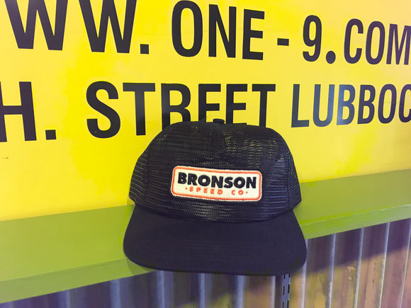 BRONSON SPEED COMPANY PATCH MESH TRUCKER HAT