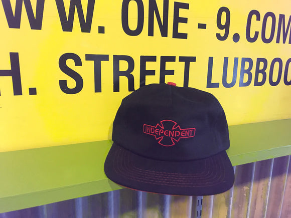 O.G.B.C. EMBROIDERY STRAPBACK INDEPENDENT HAT