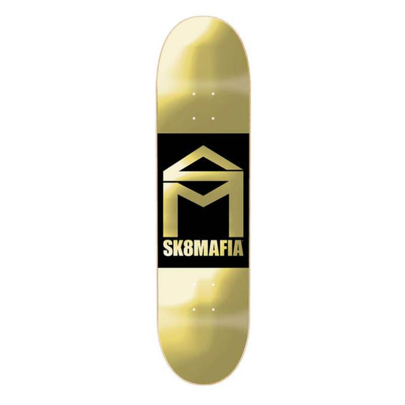 SK8MAFIA HOUSE LOGO DOUBLE DIPPED 8.0 SKATEBOARD DECK