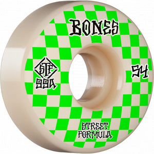 BONES STF PATTERNS 54MM SKATEBOARD WHEELS
