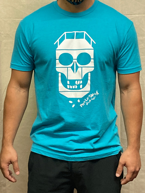PROLETARIAT SKATE SHOP SKULL SHIRT