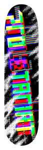 PROLETARIAT GLITCH SKATEBOARD DECK