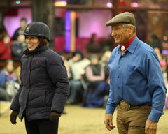 Kelly Marks and Monty Roberts