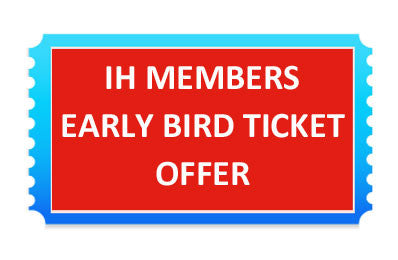 IH MEMBERS TICKET OFFER Sunday Afternoon Masterclass, 29th September 2019 at Scottish National EC, West Lothian