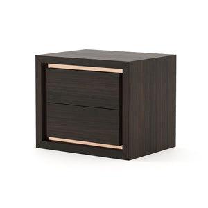 Toronto Bedside Table 2 Drawers