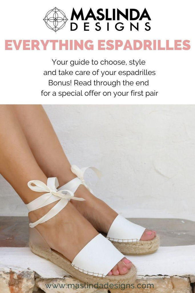 Your free guide to everything about espadrilles