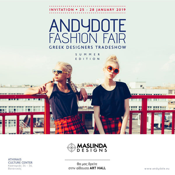 Presenting our S/S 19 Collection at Andydote Fashion Fair