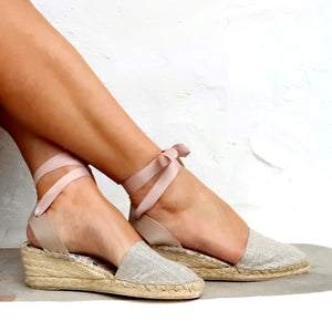 ESPADRILLES WEDGES - Maslinda Designs