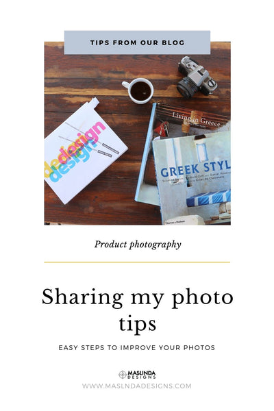 sharing my photo tips