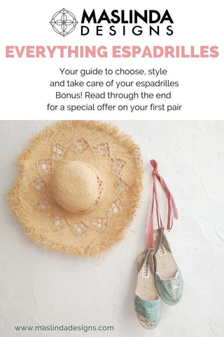 everything espadrilles free guide