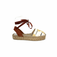 Espadrilles Sandals - Pineapple - Maslinda Designs