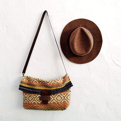 BOHO SHOULDER BAG SOLIVAGANT - CINNAMON - Maslinda Designs