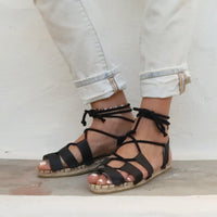 Vegan Espadrilles Sandals - Maslinda Designs