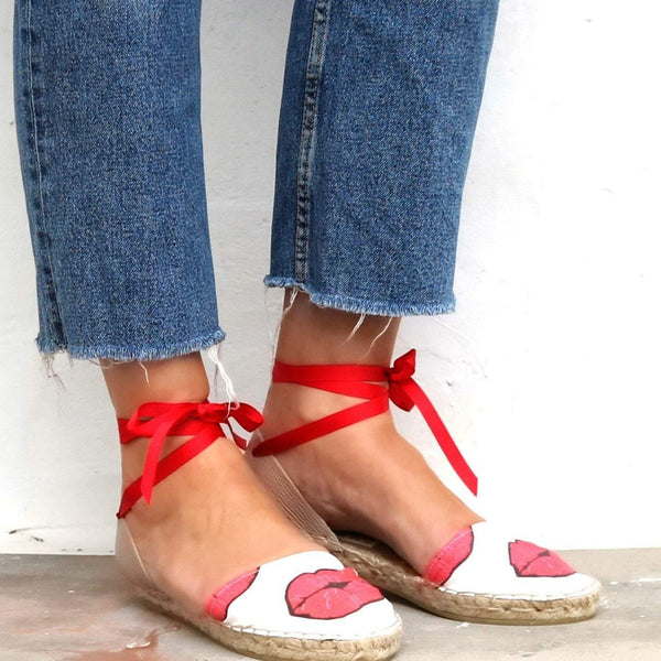Espadrilles Sandals Kiss - Maslinda Designs