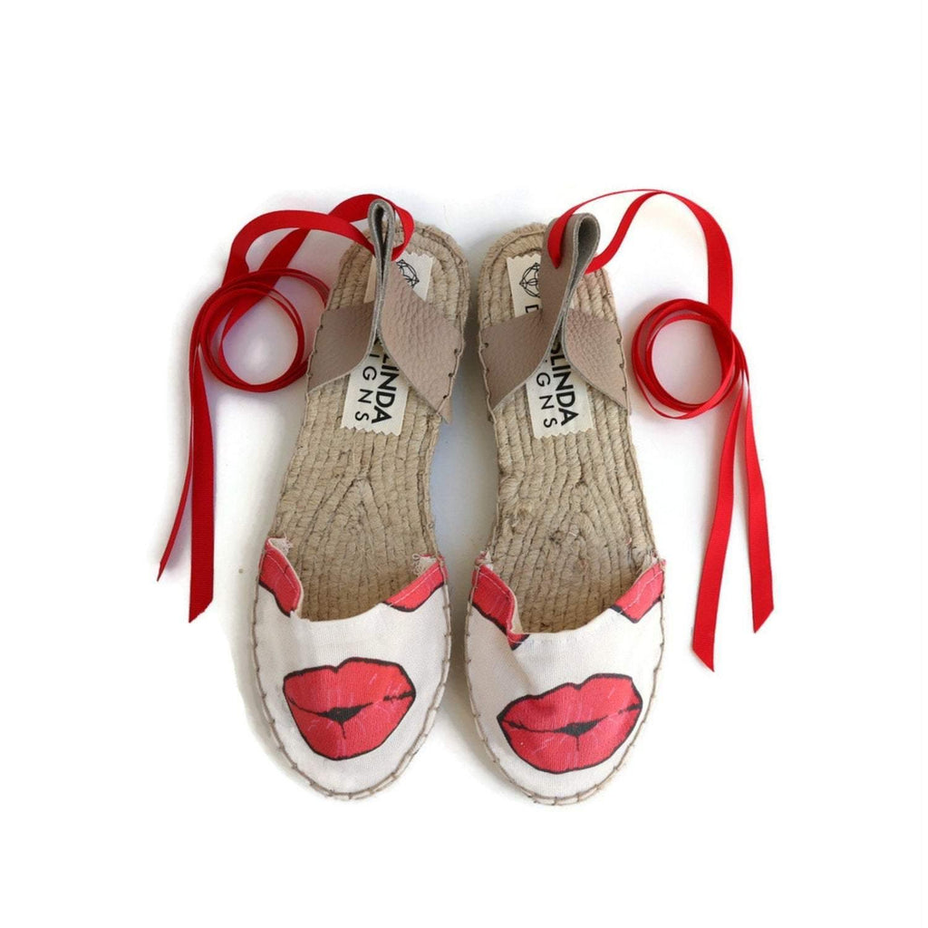 ESPADRILLES SANDALS - KISS - Maslinda Designs