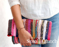 Boho Kilim Envelope Clutch - Maslinda Designs