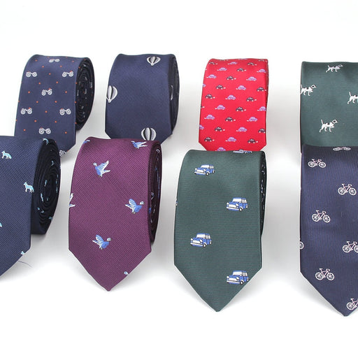Slim design ties