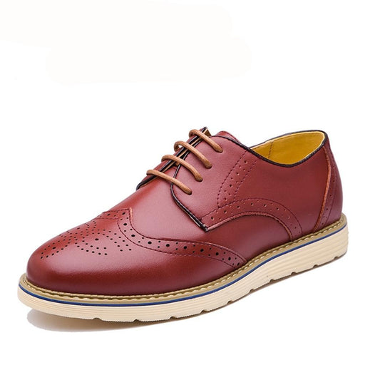 British Leather Oxford Shoes